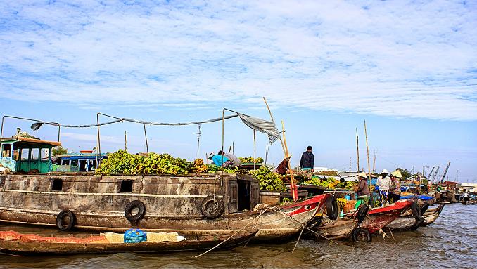 Chợ sông nước An Giang