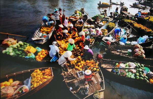 Phong Điền - chợ nổi gần sài gòn