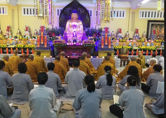 Chùa là trường Phật học của Giáo hội Phật giáo Việt Nam