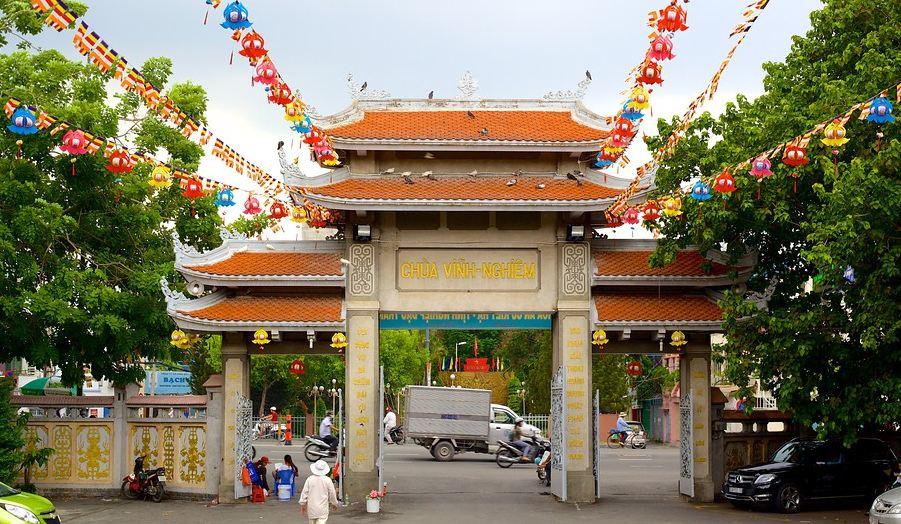 Image result for chùa vĩnh nghiêm