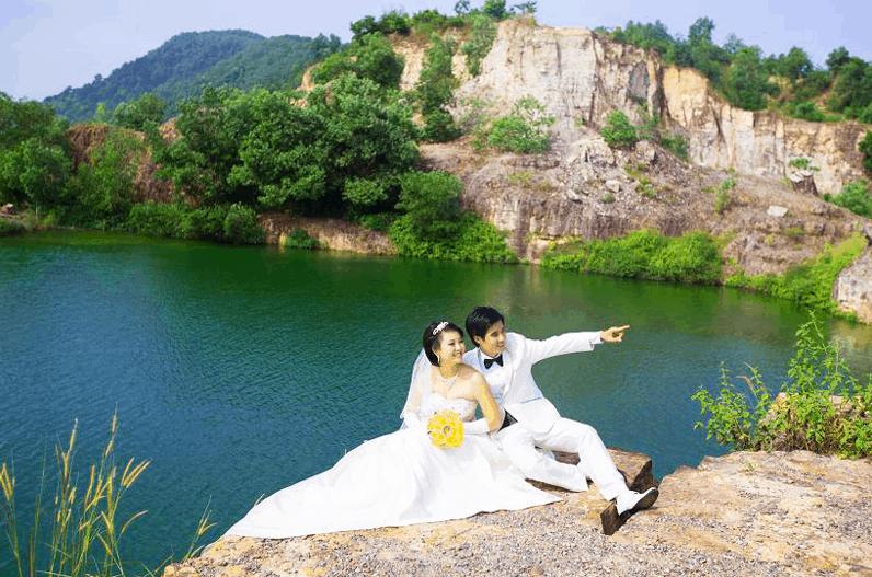 Lưu giữ những khoảnh khắc đẹp tại hồ Tà Pạ