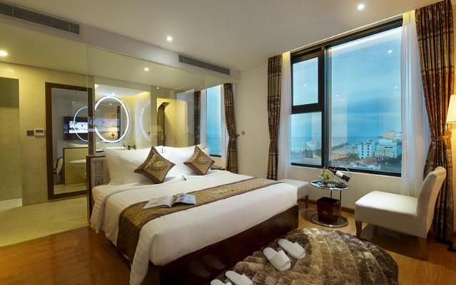 Phòng ngủ đôi tại Cicillia Hotel and Spa