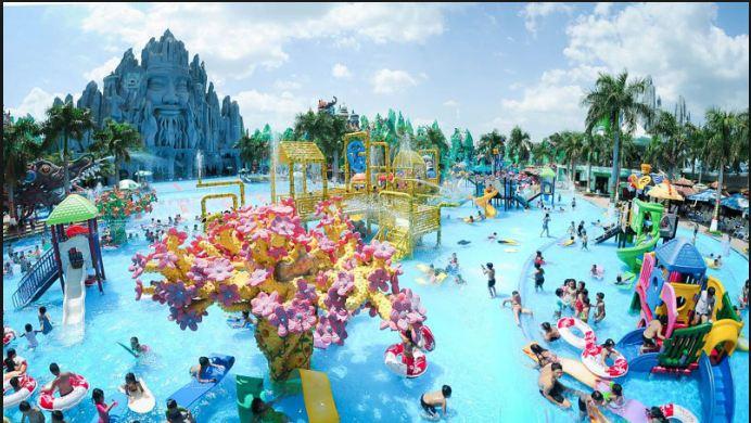 Hình ảnh công viên Đầm Sen thành phố Hồ Chí Minh
