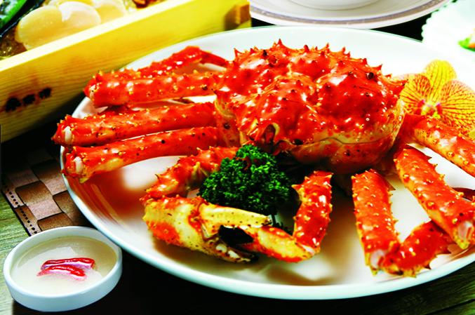 Món Cua Nhện của quán ăn hải sản ngon ở sài gòn