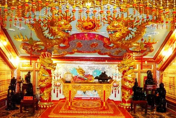 Hình ảnh Cung vàng điện ngọc