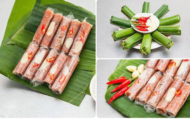 Đặc sản nem chua nổi tiếng xứ Thanh