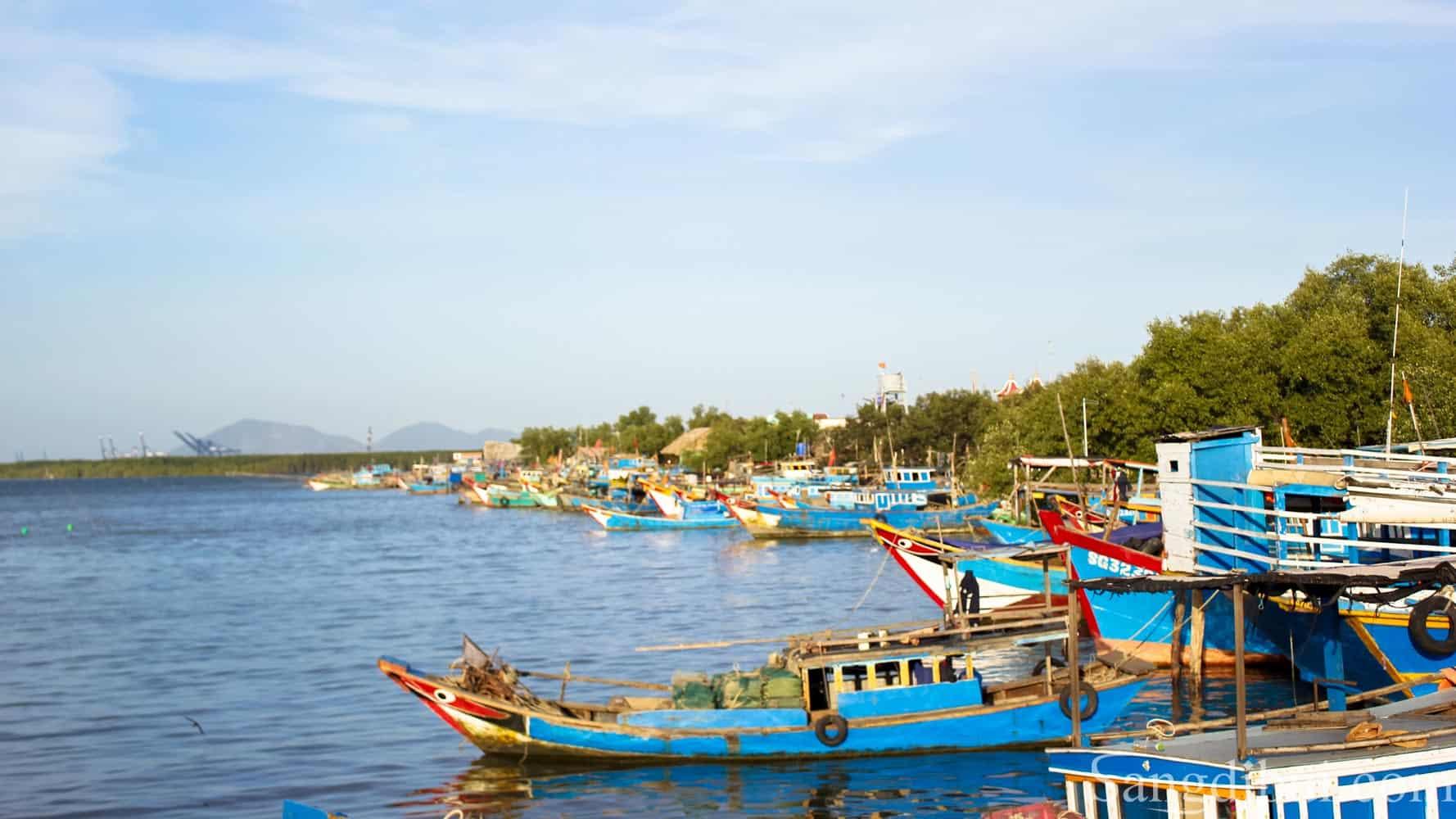 Vẻ đẹp yên bình của làng chài đảo Thạnh An