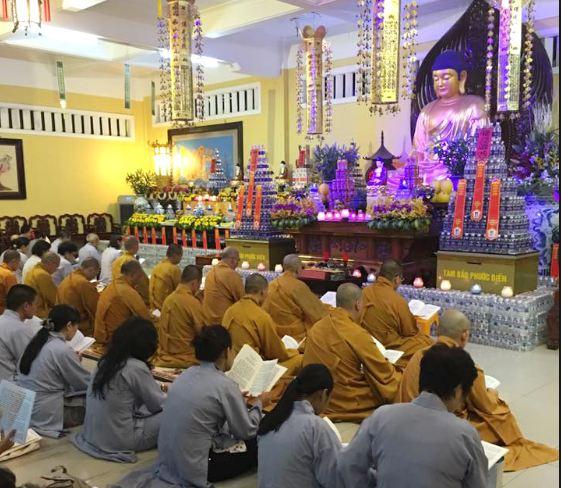 Các lớp giảng của chùa Ấn Quang tp. Hồ Chí Minh