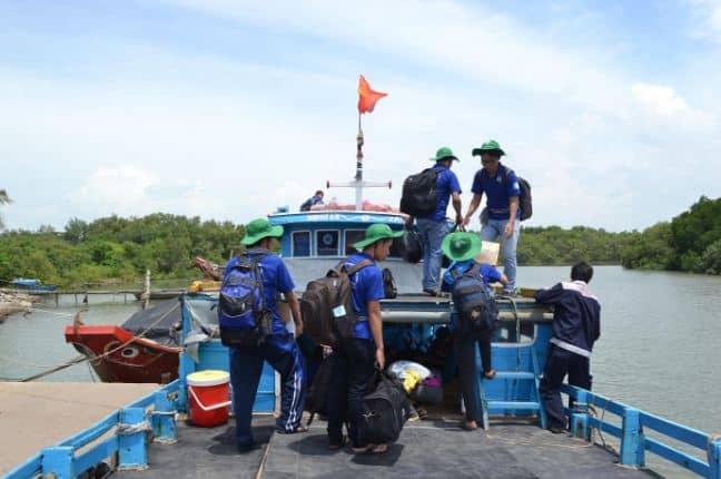 Thuyền ra đảo Thạnh An Cần Giờ Hồ Chí Minh