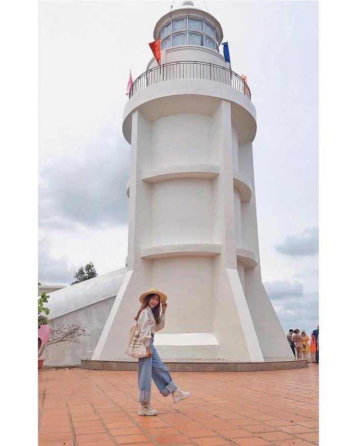 Một trong những địa điểm biểu tượng của Vũng Tàu. Ảnh: @nhitrinh_theora
