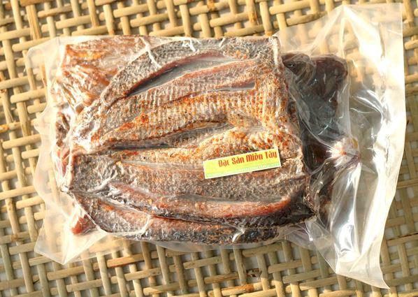 Đặc sản cá khô ở An Giang (Ảnh: ST)
