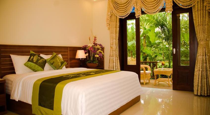 Phòng nghỉ tại Forever Green Resort (Ảnh: ST)