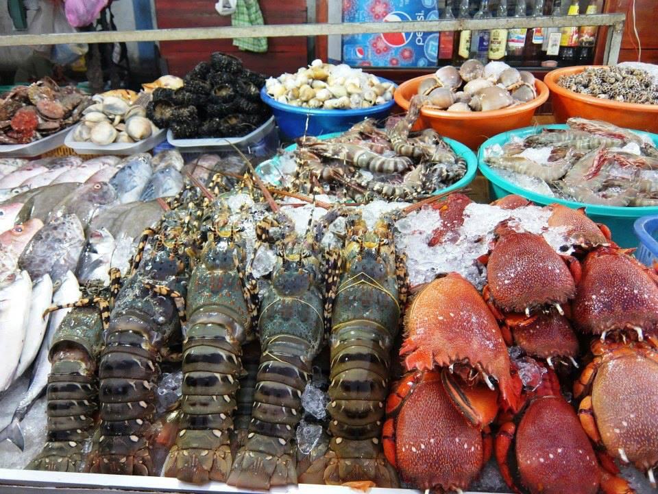 Hải sản tươi ngon ở Phan Thiết
