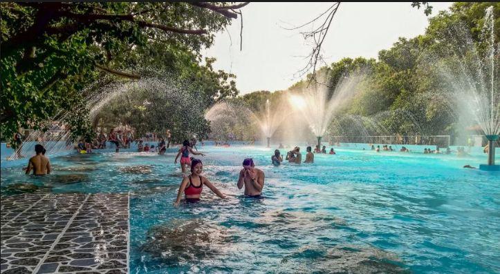 Hồ Bơi Công Viên của khu sinh thái Thủy Châu