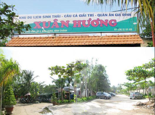 Hình ảnh khu du lịch sinh thái Xuân Hương