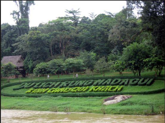 Khu du lịch sinh thái Madagui gần Sài Gòn