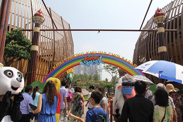 khu vui chơi trẻ em ở Hà Nội - Thiên Đường Bảo Sơn
