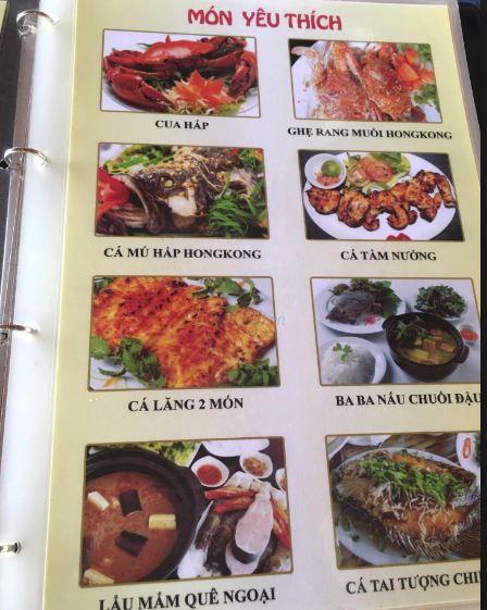 Các món ăn Khu ẩm thực Xuân Hương