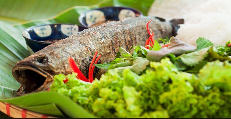 Ẩm thực các món ăn nổi tiếng tại Bò Cạp Vàng