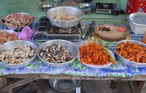 Món ăn đa dạng và dân dã - đảo thạnh an cần giờ foody