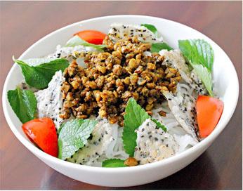 Bún Hến Mai Xá: ẩm thực Quảng Trị