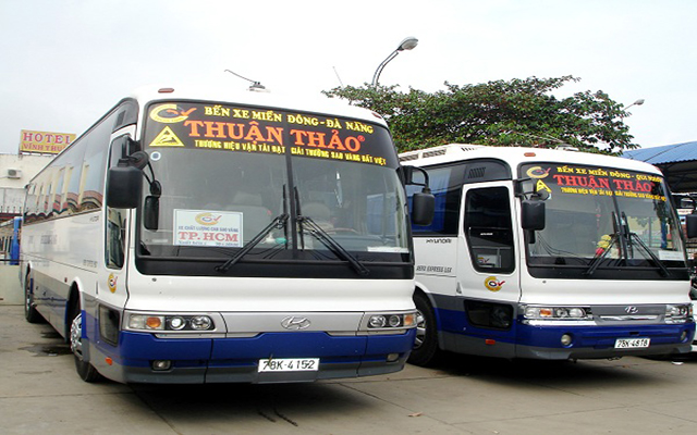 Thuan Thao bus has Saigon ⇔ Phu Yen route (Photo: collection)