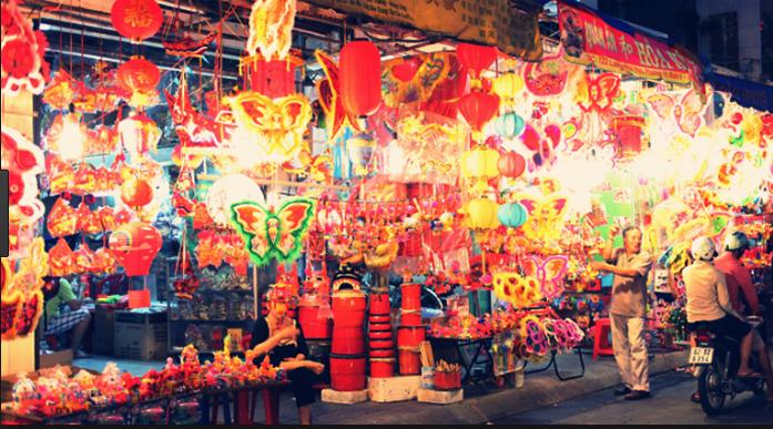 Địa chỉ phố lồng đèn quận 5, thành phố Sài Gòn