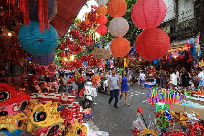 phố cổ Hà Nội - phố Hàng Mã