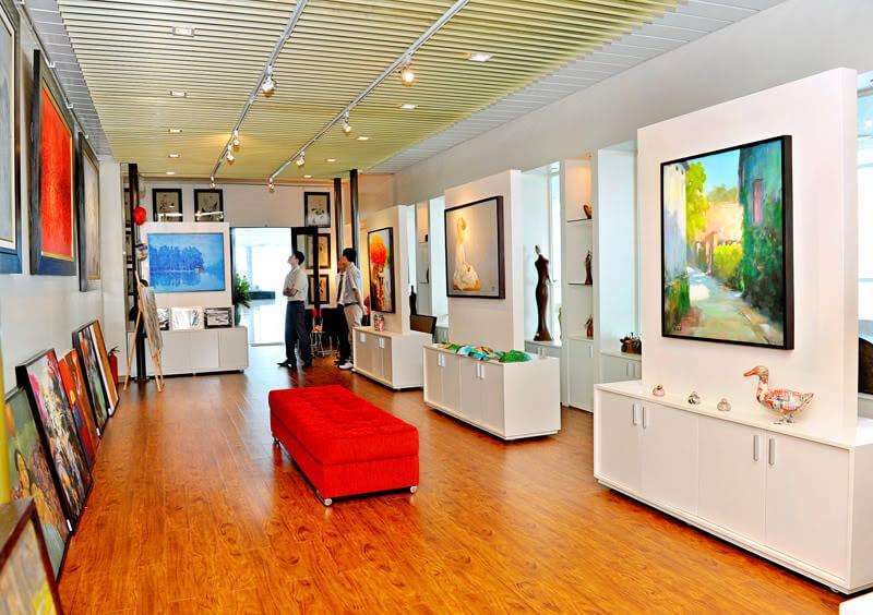 phòng tranh artlink Keangnam