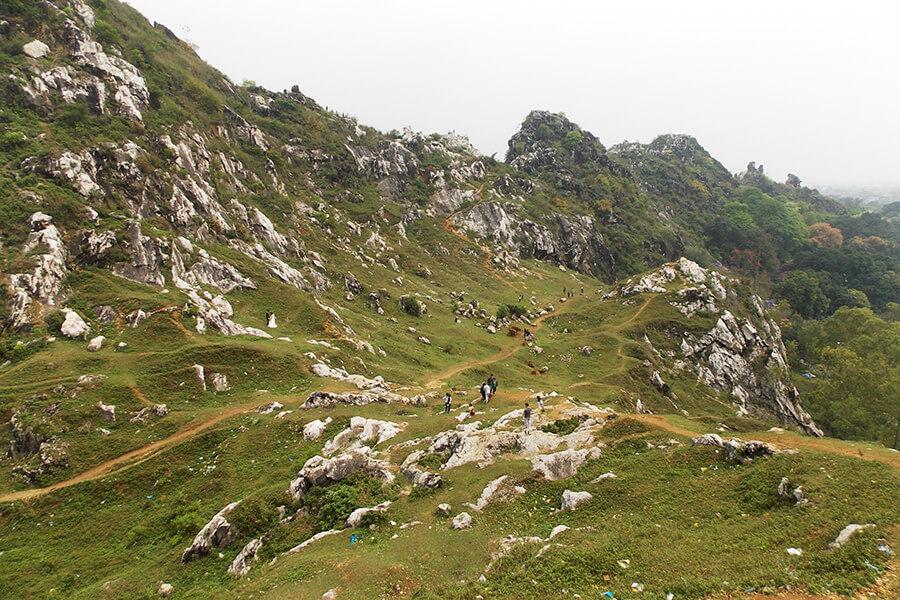 phượt gần hà nội núi trầm