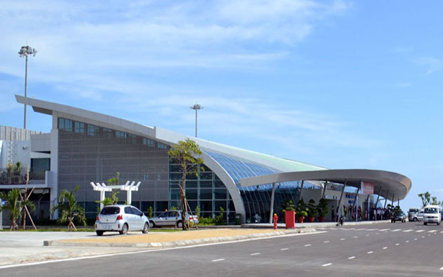 Tuy Hoa Airport is 10km from the city center (Photo: collect)