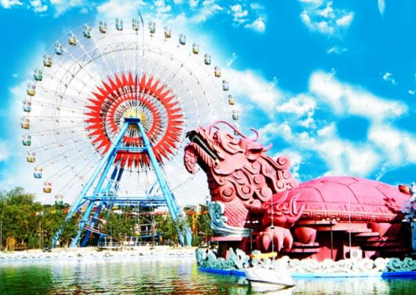 Hình ảnh khu du lịch văn hóa Suối Tiên