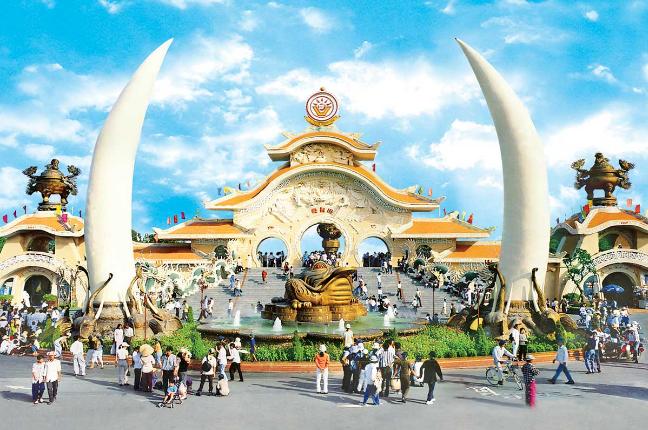 Khu du lịch Suối Tiên - quận 9, thành phố Hồ Chí Minh