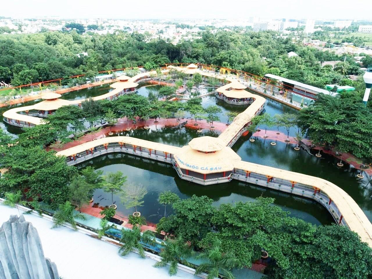 Khu du lịch văn hóa Suối Tiên có gì chơi?