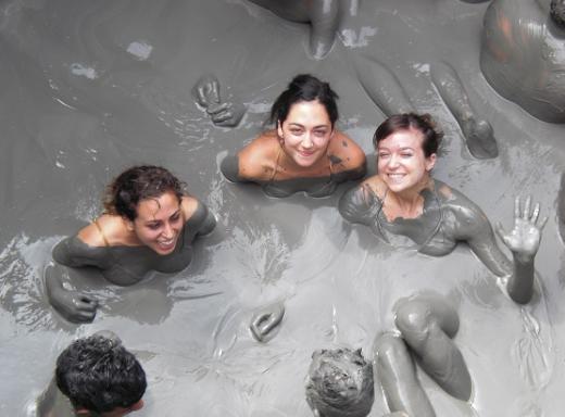 Trải nghiệm Tắm bùn