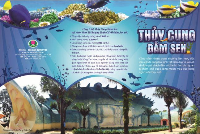 Khu du lịch Đầm Sen Hồ Chí Minh Việt Nam