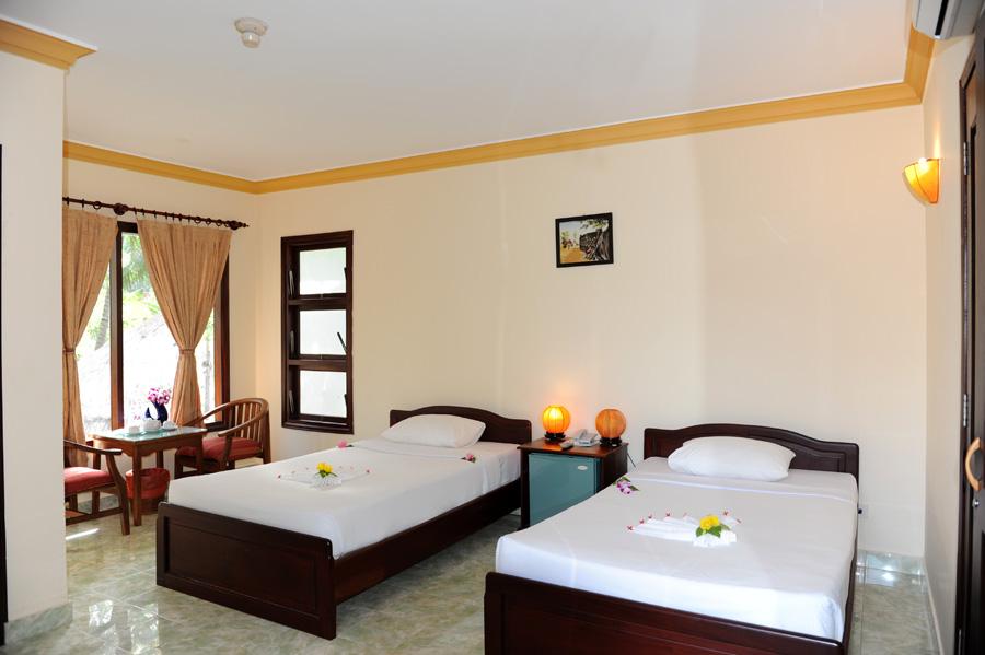 Phòng nghỉ tại Vinh Suong Seaside Hotel