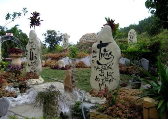 Vườn hoa bãi tắm hoàng hậu của Hàn Mặc Tử Bình Định