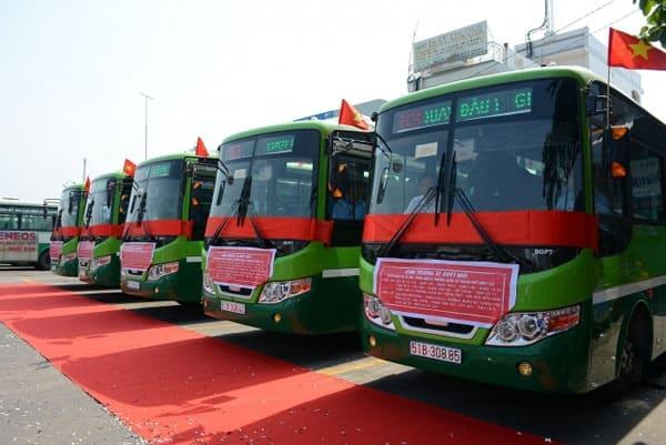 Lộ trình các tuyến xe buýt TP HCM