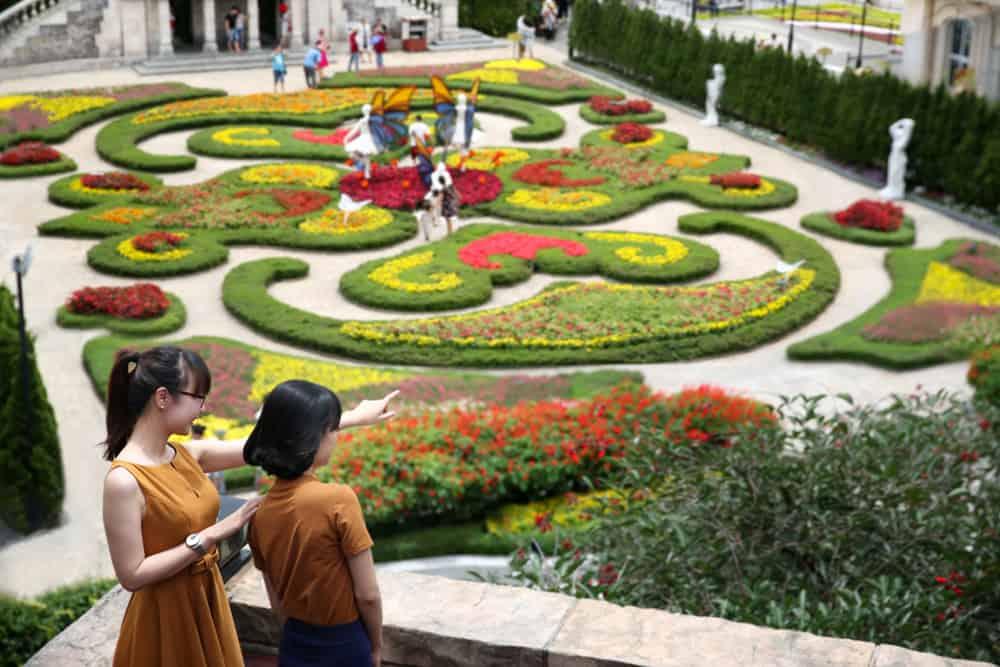 Vườn hoa Le Jardin D'Amour - địa điểm du lịch Bà Nà 01
