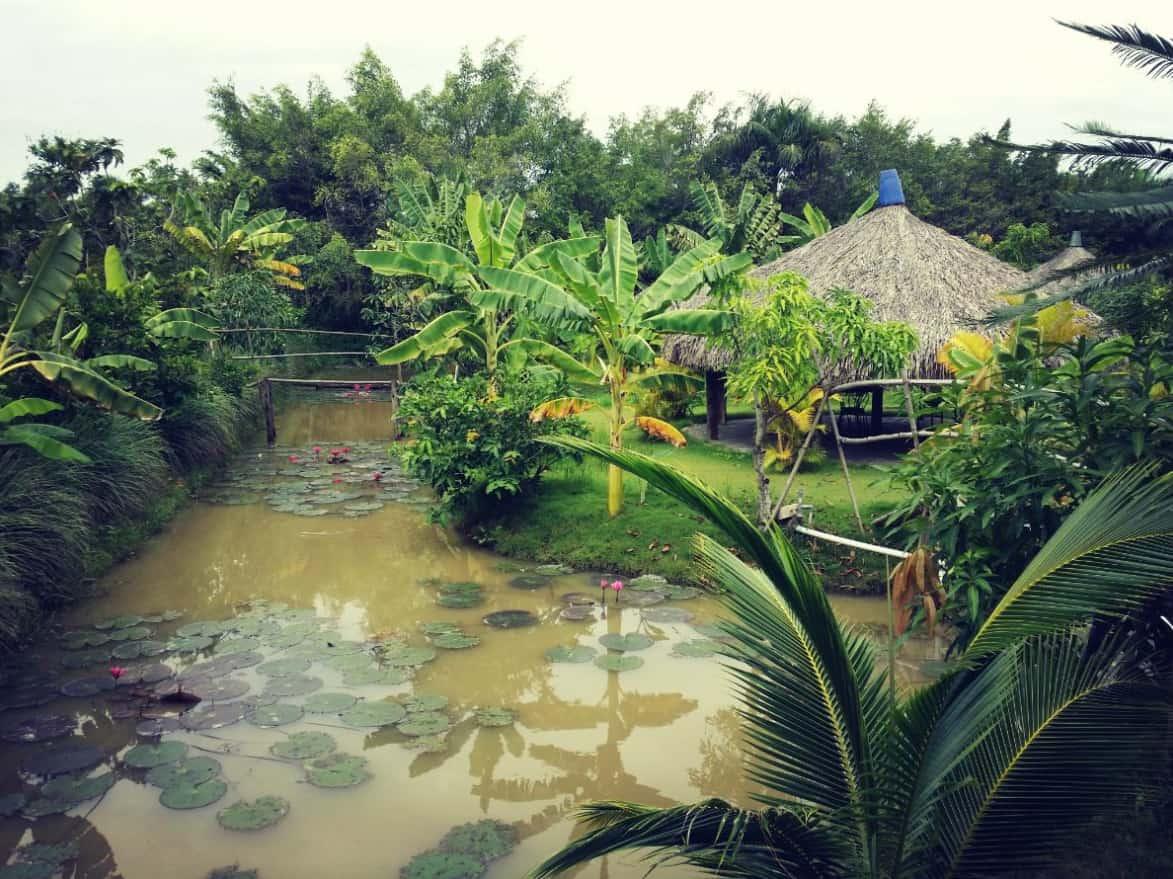 Khu du lịch Nhà vườn Long Phước gần Sài Gòn