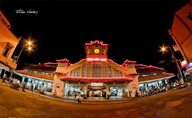 Cổng chợ Tây Đô Cần Thơ (Nguồn sưu tầm)