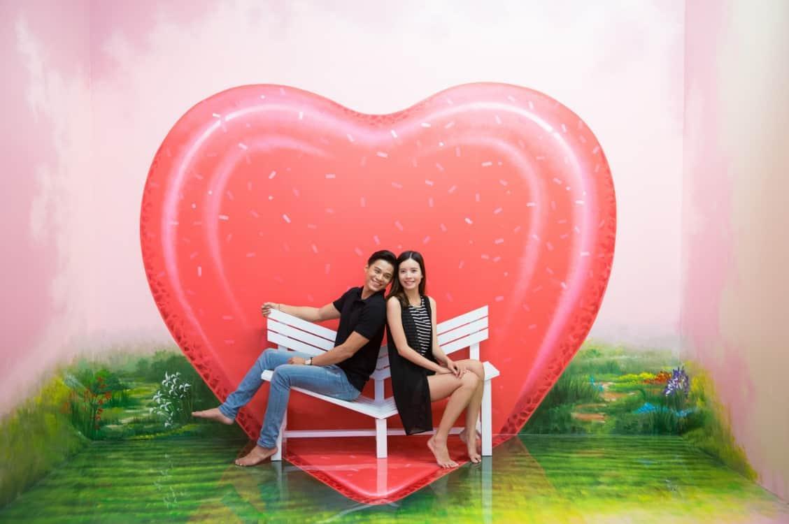 Khu Love Zone (Ảnh ST)
