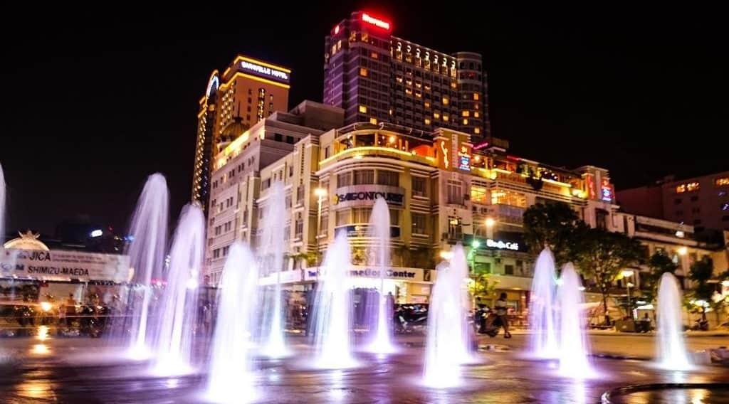 Evening fun at Nguyen Hue Street