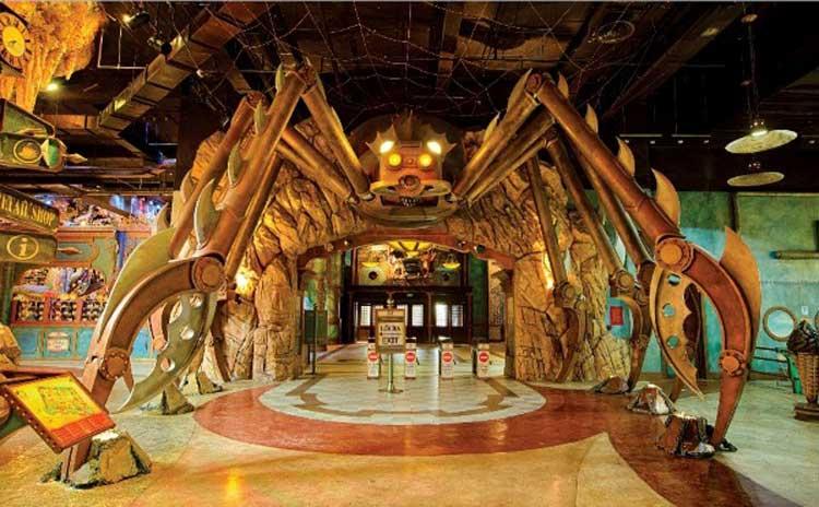 Khu vui chơi giải trí Fantasy Park - nhà Ma