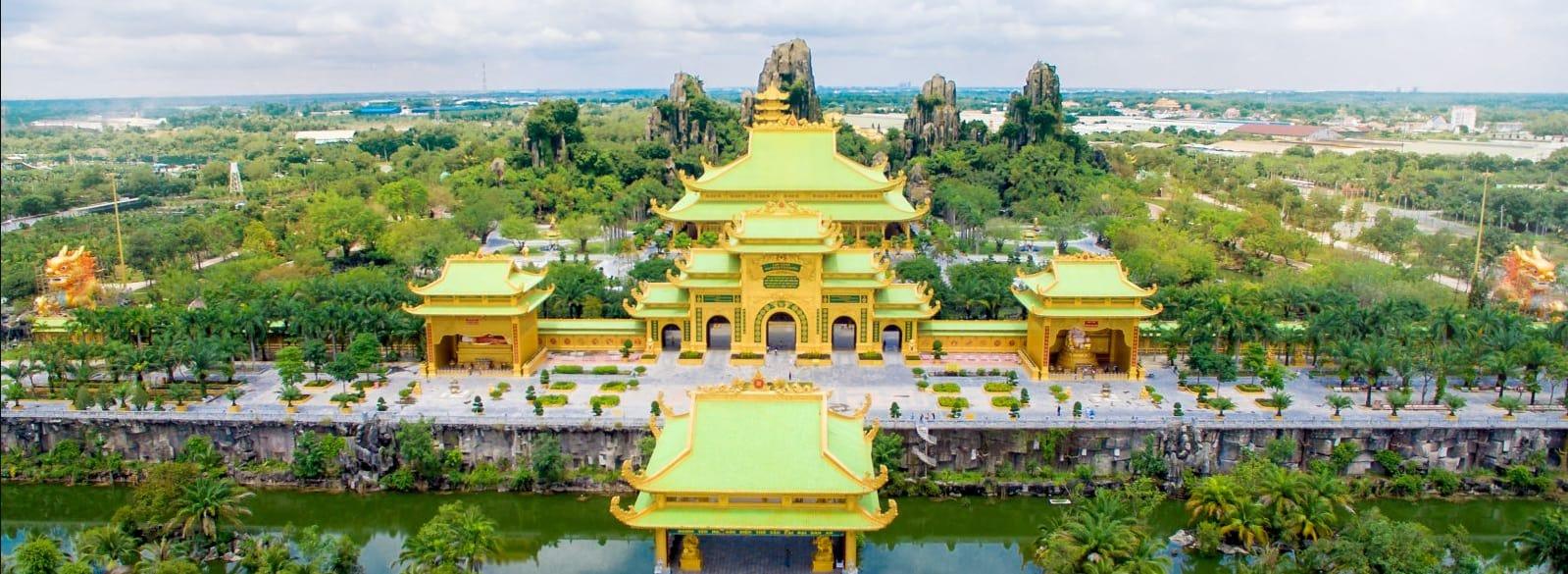 Toàn cảnh khu du lịch Đại Nam gần Sài Gòn
