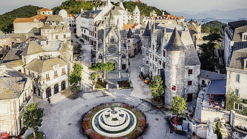 Khu làng Pháp - địa điểm du lịch Bà Nà