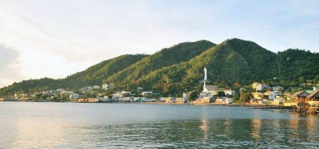 Đền thờ Đức Mẹ bãi Dâu Vũng Tàu tọa lạc trên sườn núi Lớn