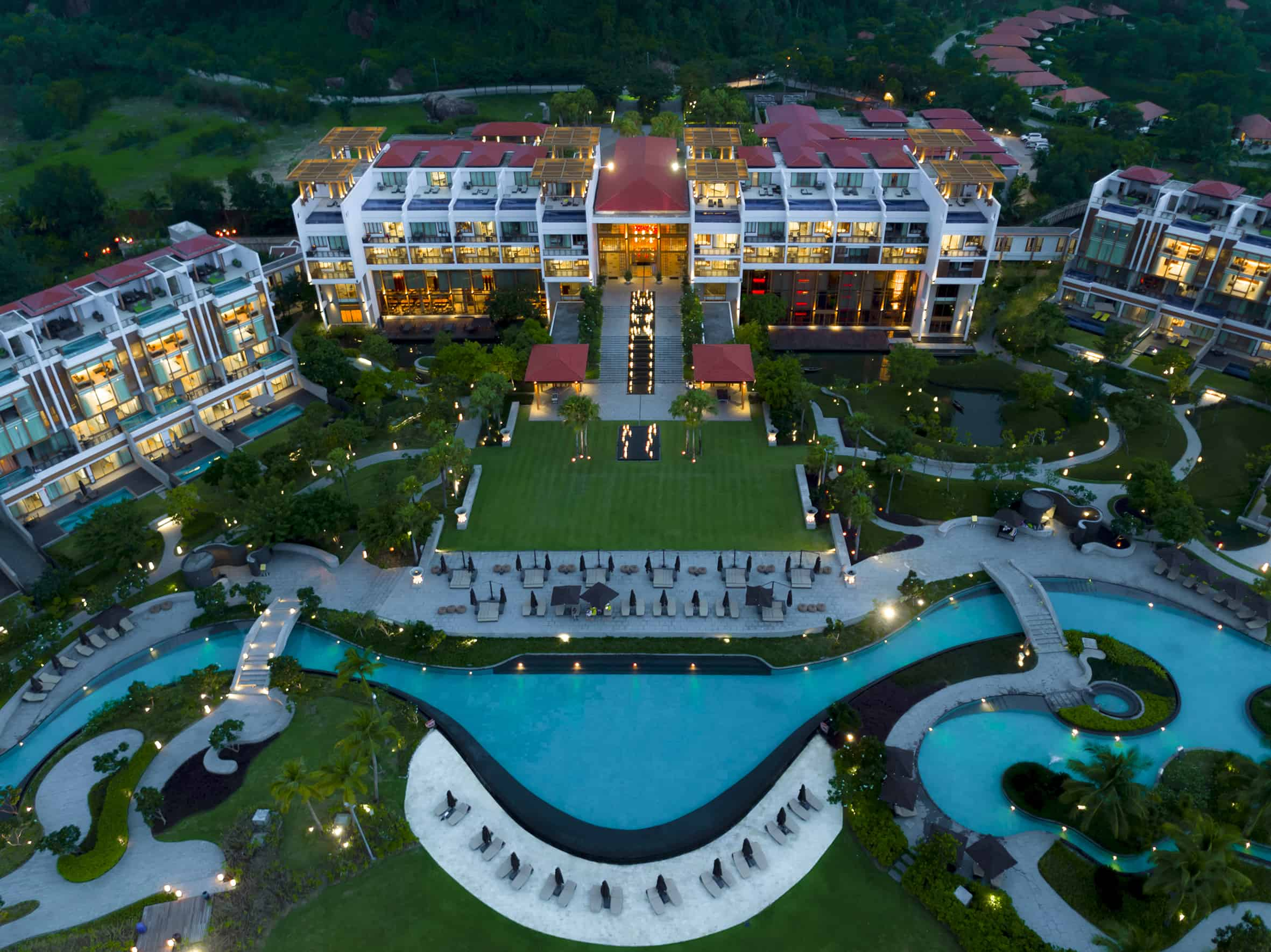Angsana Lăng Cô Resort có một trí đắc địa