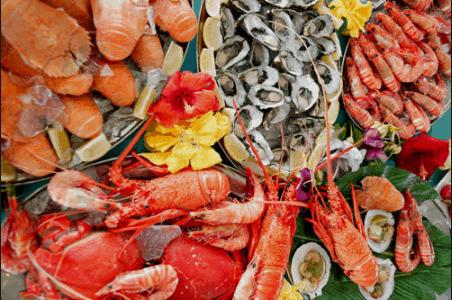 Nguồn hải sản phong phú là một trong những nét đẹp về du lịch của Vũng Tàu